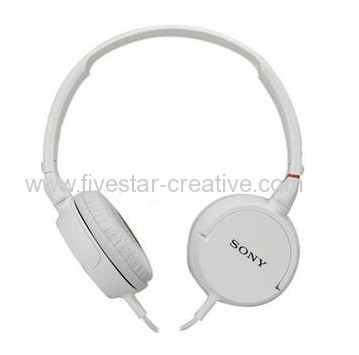 Sony MDR-ZX100 ZX Series Stereo Over-Ear Headphones White