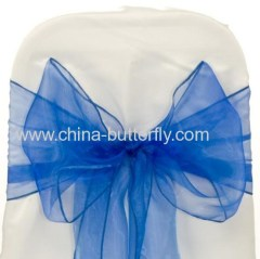 Organza Bow Chair Sash