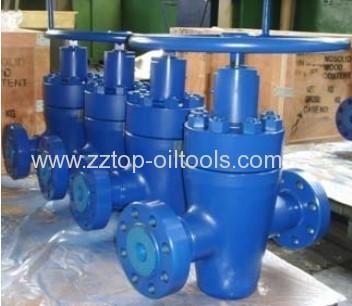 Equalizer gate valve Manual gate valve