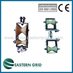 Cradle double Block Fibre Optic Cable(OPGW) Replacer
