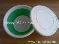 Wholesale Huge Volume PP Collapsible bowl with silicone lid foldable basket can be used to knead dough