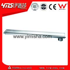 Long Stainless Steel Linear Rectangular Floor Drain