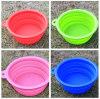 silicone foldable portable PET bowl dog basin tub collpasible pet supplies