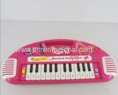 Hot stamping foil electronic organ