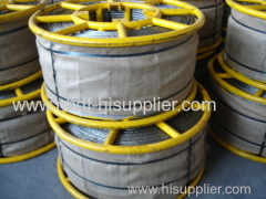 18 strands Anti twisting galvanized Steel Wire Rope