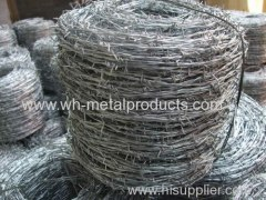galvanized barbed wire single strand barb wire double strand barb wire heavy galvanizing barbed wire