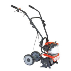 Garden tiller with small engine rotary tiller litter wheel cultivator farm tiller
