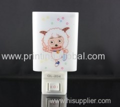 Heat transfer film for indoor wall lamp shell