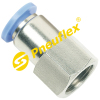 PCF Female Connector Pneumatic Fitting