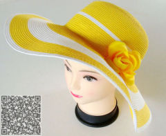 new style paper straw lady hats