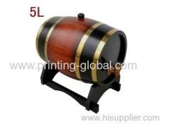 Heat transfer film for wine bucket