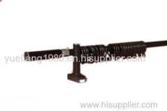 telescopic iron curtain rod
