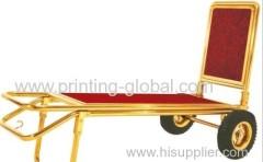 Heat transfer film for hotel luggage cart/wooden hotel luggage trolley/metal hotel luggage cart