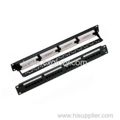 Patch Panel 24 Port 110IDC Cat.5e Patch Panel