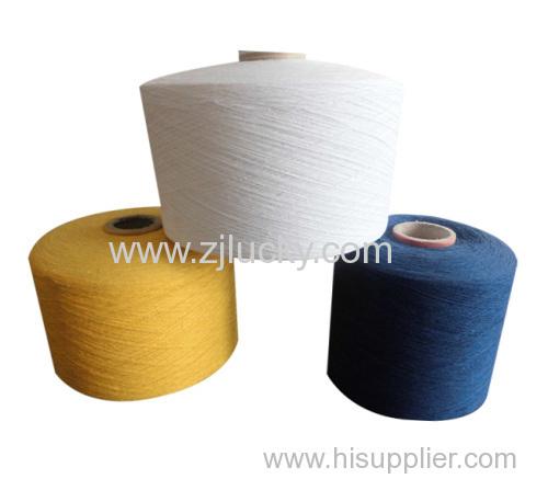 regenerated polyester cotton yarn