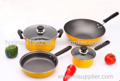 manufacturers supply Non-stick frying pan stockpot Wok kitchen Set cookware sets