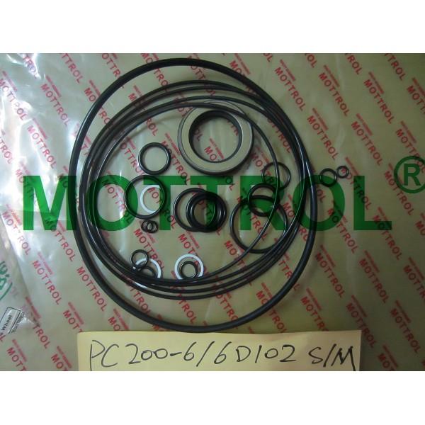 PC200-6 6D102 SWING MOTOR SEAL KIT
