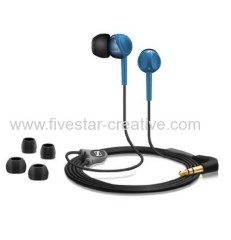 Sennheiser CX215 Blue In-Ear Headphones Stereo Earbuds Premium CX215 Earphones