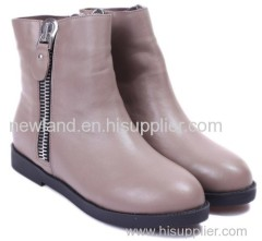 2013 very popular big size leather boots for women
