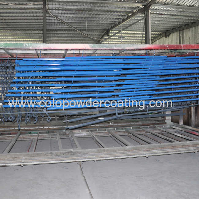 Aluminium window & door frame powder coating line