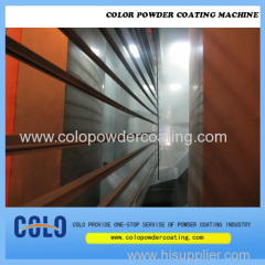 Aluminium extrusion powder coating line Aluminium window & door frame powder coating line