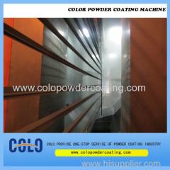 Profilé en aluminium horizontal en poudre