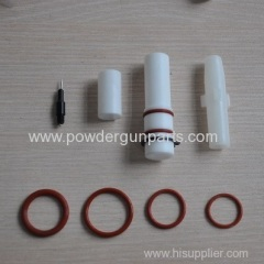 spare parts of powder gun