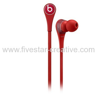 Beats Tour 2.0 In-Ear Headphones with Carrying Case Red