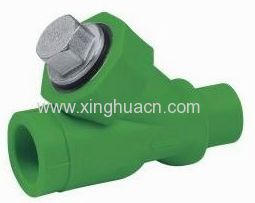 ppr Y type filter valve for water supply