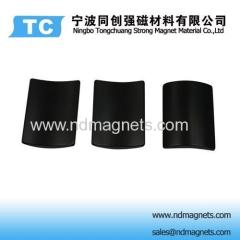 Epoxy plated permanent magnets