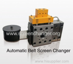 Auto screen changer for polymer melt filtration
