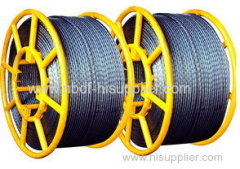 9 MM Anti Twisting Galvanized Steel Wire Rope
