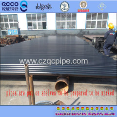 QCCO supply ASTM A106Gr.C carbon seamless pipe