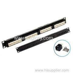 Patch Panel Cat.6 Patch Panel