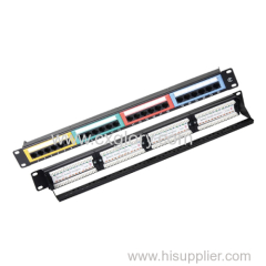 Patch Panel 24 Port Cat.6 Patch Panel