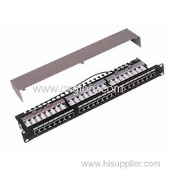 Patch Panel 24 Port STP Cat.5e Patch Panel