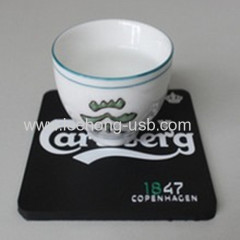 durable anti slip cup coaster