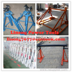 Mechanical Drum Jacks,Cable Drum Trestles,Made Of Cast Iron