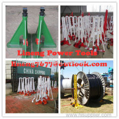 Hydraulic Cable Jack Set,Jack Tower,Cable Drum Jack