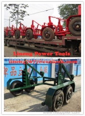 Cable Reel Trailer,Cable Reel Puller,Cable Conductor Drum Carrier Cable Reel Puller,Cable Reels, Cable reel carrier trai