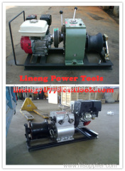 Cable pulling winch cable puller,Cable Drum Winch Cable pulling winch