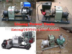 cable puller,Cable Drum Winch,Cable pulling winch CABLE LAYING MACHINES