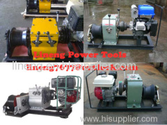 CABLE LAYING MACHINES,Cable bollard winch Cable Hauling and Lifting Winches