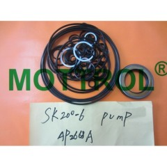 SK200-6 HYDRAULIC PUMP SEAL KIT
