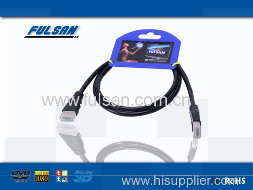 30AWG Transparent HDMI Cable