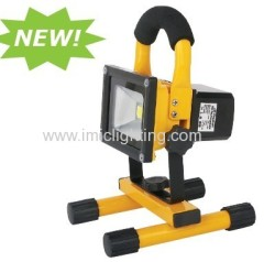 Portable 10W rechargeable emergency LED work Floodlight