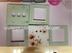 Heat transfer film for electric switch
