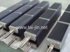 Ru-Ir or Pt coated titanium anode for ionized water