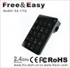 2.4g Mini wireless keypad