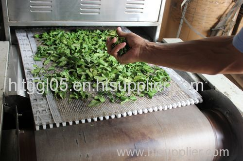 Herbs Tunnel Continuous Microwave Sterilization Machine
